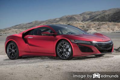 Insurance rates Acura NSX in Milwaukee