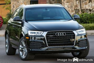 Insurance quote for Audi Q3 in Milwaukee