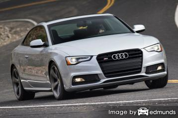 Insurance quote for Audi S5 in Milwaukee