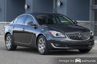 Insurance rates Buick Regal in Milwaukee