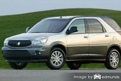 Insurance rates Buick Rendezvous in Milwaukee