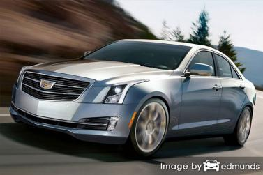 Insurance rates Cadillac ATS in Milwaukee