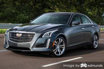 Insurance rates Cadillac CTS in Milwaukee