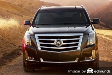 Insurance rates Cadillac Escalade in Milwaukee