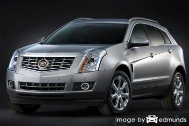 Insurance rates Cadillac SRX in Milwaukee