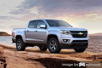 Insurance rates Chevy Colorado in Milwaukee