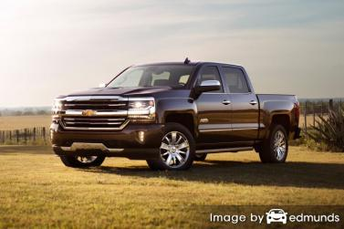 Insurance quote for Chevy Silverado in Milwaukee