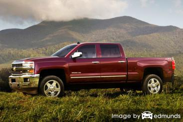 Insurance quote for Chevy Silverado 2500HD in Milwaukee