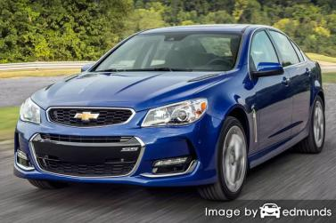 Insurance rates Chevy SS in Milwaukee