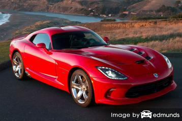 Insurance quote for Dodge Viper in Milwaukee