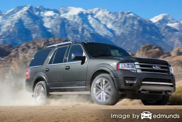 Insurance quote for Ford Expedition in Milwaukee