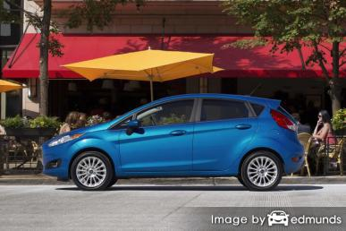 Insurance rates Ford Fiesta in Milwaukee