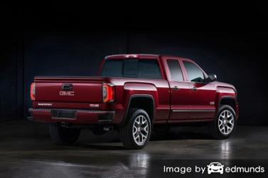 Discount GMC Sierra insurance