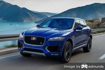 Insurance rates Jaguar F-PACE in Milwaukee