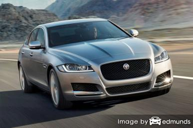 Insurance quote for Jaguar XF in Milwaukee