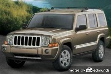 Insurance quote for Jeep Commander in Milwaukee