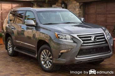 Insurance rates Lexus GX 460 in Milwaukee