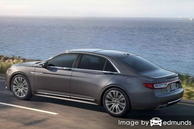 Insurance quote for Lincoln Continental in Milwaukee
