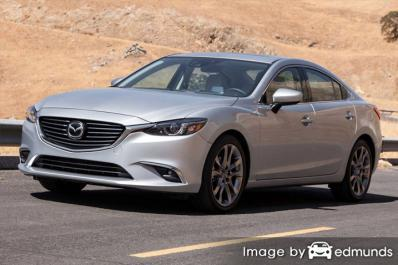 Insurance quote for Mazda 6 in Milwaukee