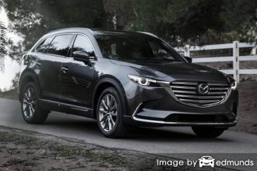 Insurance rates Mazda CX-9 in Milwaukee