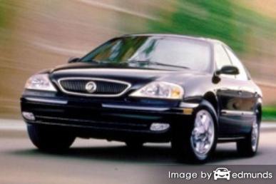Insurance rates Mercury Sable in Milwaukee