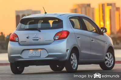 Insurance quote for Mitsubishi Mirage in Milwaukee