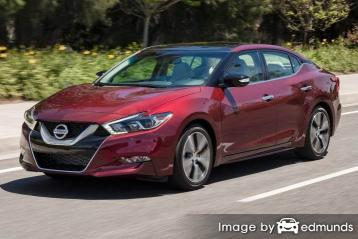 Insurance rates Nissan Maxima in Milwaukee