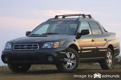 Insurance rates Subaru Baja in Milwaukee