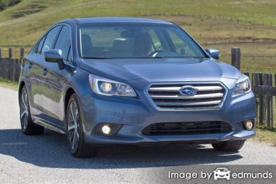 Insurance quote for Subaru Legacy in Milwaukee