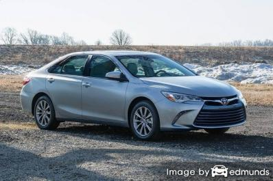 Insurance quote for Toyota Camry in Milwaukee