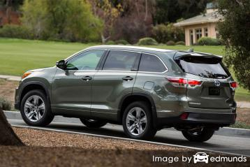 Insurance quote for Toyota Highlander Hybrid in Milwaukee