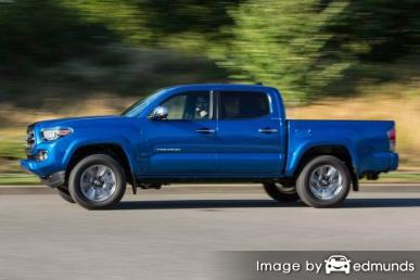 Insurance quote for Toyota Tacoma in Milwaukee